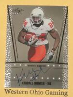 2011 Leaf Draft Kendall Hunter #RC-KH1 Rookie RC Auto Autographed Card