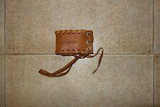 Dsquared² Runway SIGNATURE Leather Bracelet Bracciale Pelle 100% Authentic RARE