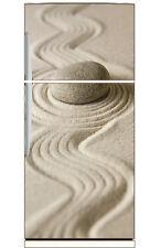 Adesivi frigorifero frigo Sabbia ciottolo 70x170cm ref 6205
