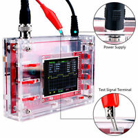Fully Welded DSO138 2.4 TFT Digital Oscilloscope+Probe Kits Acrylic Case Useful