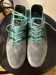 Asics Athletic Running Shoes H403N Mens 12.5 Diamond 3M Laces No Box As Is
