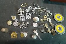 Mixed Badges and Sundries Mostly Police Some Unused