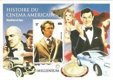 JAMES BOND MARLON BRANDO CLINT EASTWOOD CINEMA HISTORY 1999 MNH STAMP SHEETLET