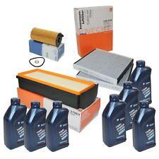 MAHLE Filterset BMW F10 F01 530d 535d 730d 740d 7L ORIGINAL BMW Motoröl 5W30 LL
