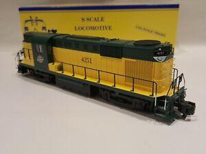 American Models S Gauge  ALCO RS 11 C & NW Diesel Locomotive LNIB