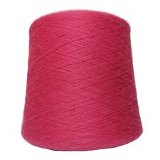 Alpaca Yarn on Cone - Hot Pink - Lace Weight - 1KG