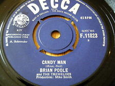 """BRIAN POOLE & THE TREMELOES - CANDY MAN      7"""" VINYL"""