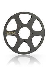 "New Technics 10.5"" inch Metal Reels 6 Spokes for 1/4"" Tape"