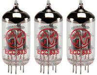 JJ/Tesla ECC83S 12AX7 ECC83 Preamp Tubes, Set of 3