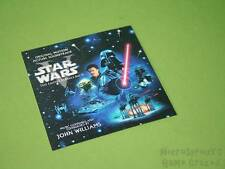 Star Wars Soundtrack CD Moving Image Picture Insert Only *No Disc / Case*