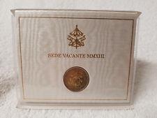 Vatikan 2 Euro 2013 Sede Vacante MMXIII in orig. Folder