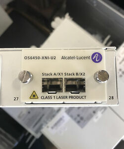 Lot of 2 Alcatel OS6250-24 Switch