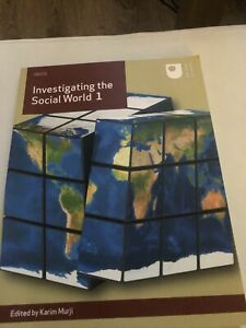 Investigating the Social World 1 by Open University Course Team Book The Cheap