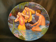 """1987 Knowles """"Happy Talk"""" South Pacific Collectible Plate # 3730 C"""