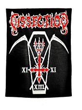 DISSECTION ( anti cosmic cult of death ) EMBROIDERED PATCH