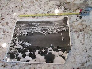 "Vintage Circa 1930s Golf Club Photo  14"" x 11"""