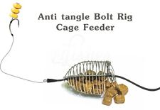 Carp Fishing Cage Feeder 5g / 0.25oz Rig #4 - Coarse Bait Method Fishing Tackle