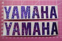 2x Space Purple Yamaha Yz Graphics Stickers Yzf R6 R1 YzfR1 Dt125 Fazer Tzr YFZ