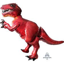 Dinosaur Tyrannosaurus Rex Giant Airwalker Foil Balloon Party Events 5ft