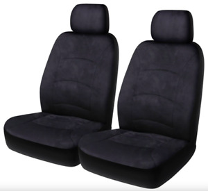 Saab 900, 9000 & 99 - All Models Suede Seat Covers w Headrest - Air Bag Comp