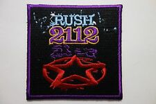 Rush 2112   EMBROIDERED PATCH IRON OR SEW