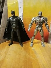 DC Comics Multiverse Justice League CYBORG & Batman figure lot