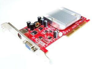 Gainward Nvidia Geforce FX5200 128MB VGA Tv-out AGP 8x Video Card NA-52000-T016