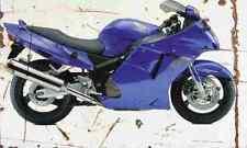 Honda CBR1100XX SuperBlackbird 1999 Aged Vintage SIGN A4 Retro