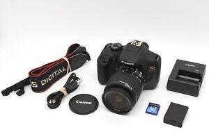 Canon EOS Rebel T6 DSLR Camera w/ 18-55mm Lens & accessories