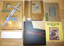 Zelda 2 II The Adventure of Link for NES COMPLETE in BOX! TESTED! Nintendo NICE!