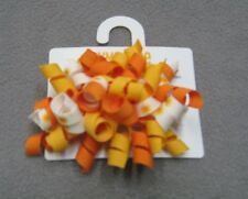 Yellow Curlies Hair Clips Gymboree Sunflower Smiles 18-24 M 2T 3T 4T NEW