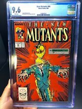 Marvel The New Mutants Issue #64 9.6 Graded CGC