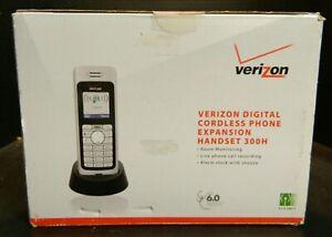 Verizon Digital Cordless Phone Expansion Set 300H Direct 6.0 Interface Excellent