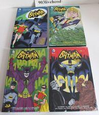 DC COMICS BATMAN 66 VOL. * 1 * 2 4 5 HC HARDCOVER SIGNED TY TEMPLETON LOT NEW