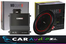 """MB Quart 12 """" Subwoofer und 2CH Verstärker Paket Toll Qualität Autoradio Handel"""