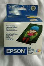 Epson Stylus Color 777 777i 1000ICS T017 T018 TO17 TO18 SEALED 05/2008 OLD STOCK