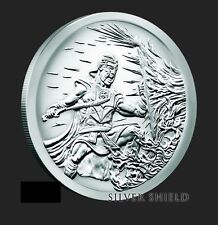 2017 5oz Crucible Proof Silver Shield Group Ssg 777