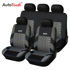 AUTOYOUTH Universal Car Seat Cover Fit Most Cars with Styling Creation