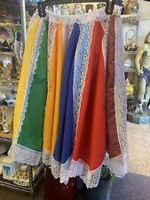 Saya  De Oya De 9 Colores Chola Santería palo skirts 7 African Power Skirts
