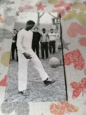 "WALDYR PEREIRA ""DIDI"" BRAZILIAN FOOTBALL PLAYER, 1962, ORIGINAL PHOTO"