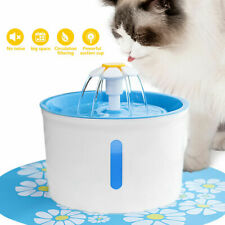 2.6L Automatic Pet Drink Water Fountain Cat Dog Feeder Mute Filters Dispenser