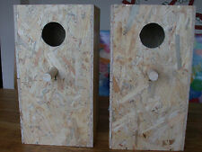 "2 X AVIARY NEST BOXES FOR BREEDING-CONURE,COCKATIEL,PARAKEET,KAKARIKI-17""X9""X9"""