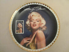 Marilyn Monroe collector plate Sultry Yet Regal Gold Collection Michael Deas