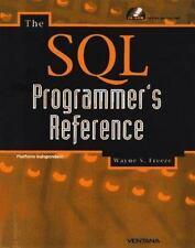 The Sql Programmer's Reference: Windows 95/Nt & Unix, Freeze, Wayne S., New Book