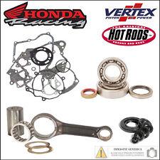 Set Révision Moteur Bielle Roulements Garnitures Joints D' Huile Honda Cr 500 R