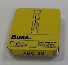 BUSS FUSE ABC 30 *PZB*