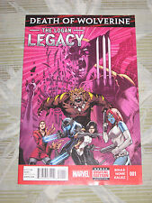 Death of Wolverine: The LOGAN LEGACY # 1 MARVEL NOW! ! X-MEN APOCALYPSE
