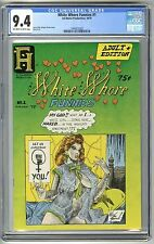 WHITE WHORE FUNNIES #1 1975 CGC 9.4 NM OW/W 1ST PRINT UNDERGROUND COMIX