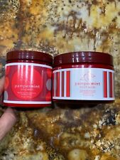 Unisex Peppermint Pampermint Footwork Foot Scrub 12oz And Lotion 9oz New Sealed