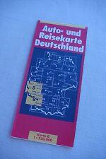 Reisekarte 95/96 Koblenz-Kaiserslautern- Offenburg Freizeitteil Abstecher